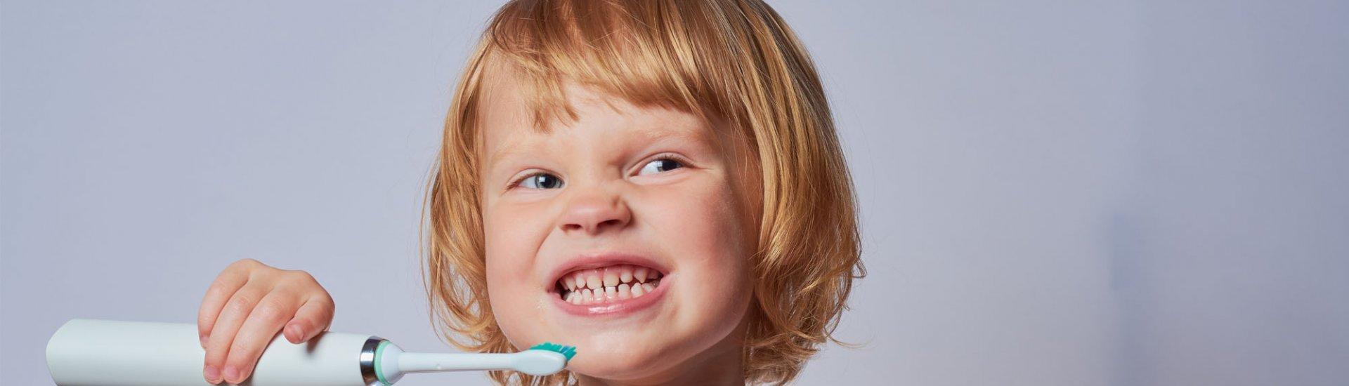 Schallzahnbürsten für Kinder für die tägliche Mundhygiene